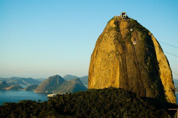 Pain de sucre à Rio de Janeiro