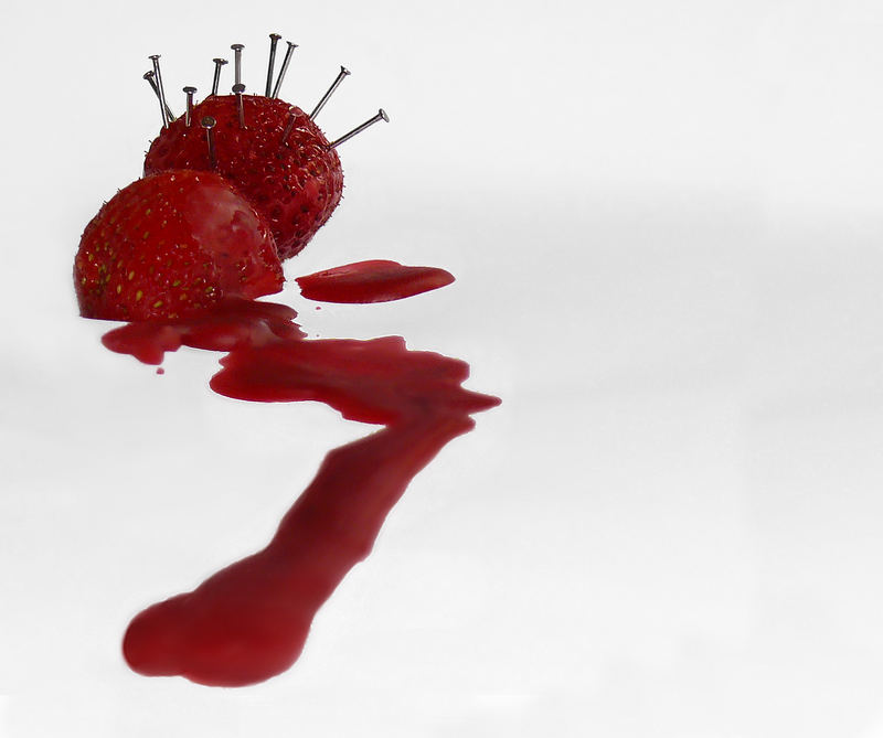 Pain of strawberry