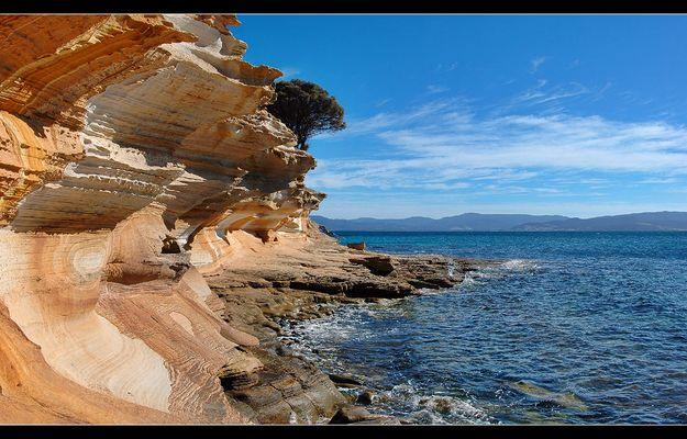 Painted Cliffs II - Maria Island