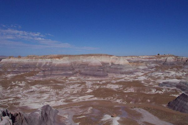 Painted Desert( Blue Mesa )