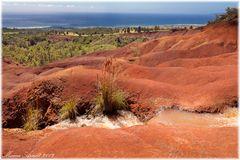 Painted Desert mit Meerblick