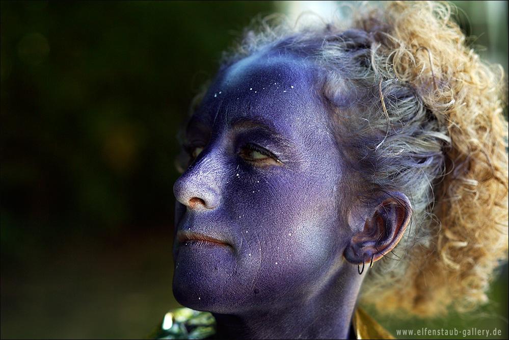 Painterin: Kerstin Bülow Model Iris