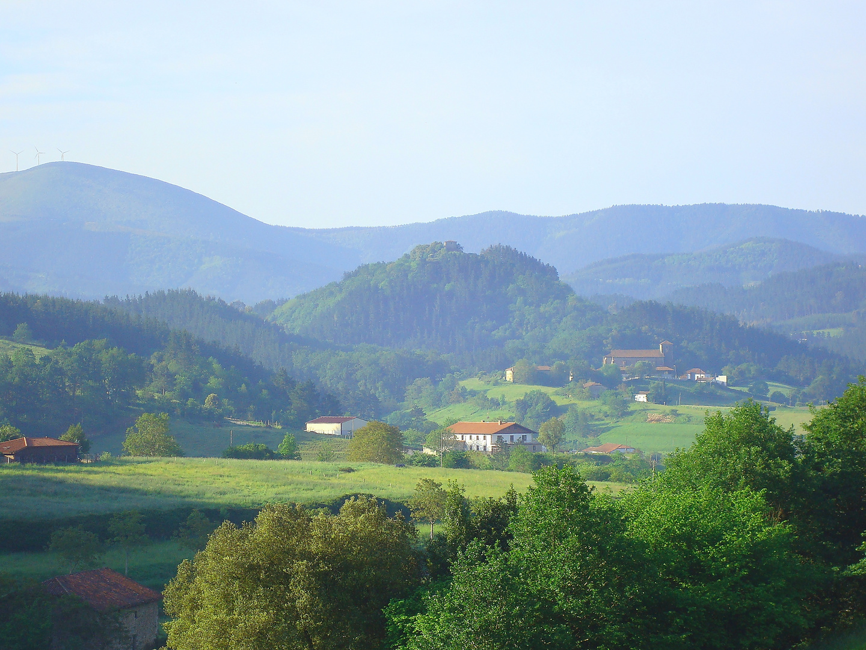 País Vasco, bruma de la mañana