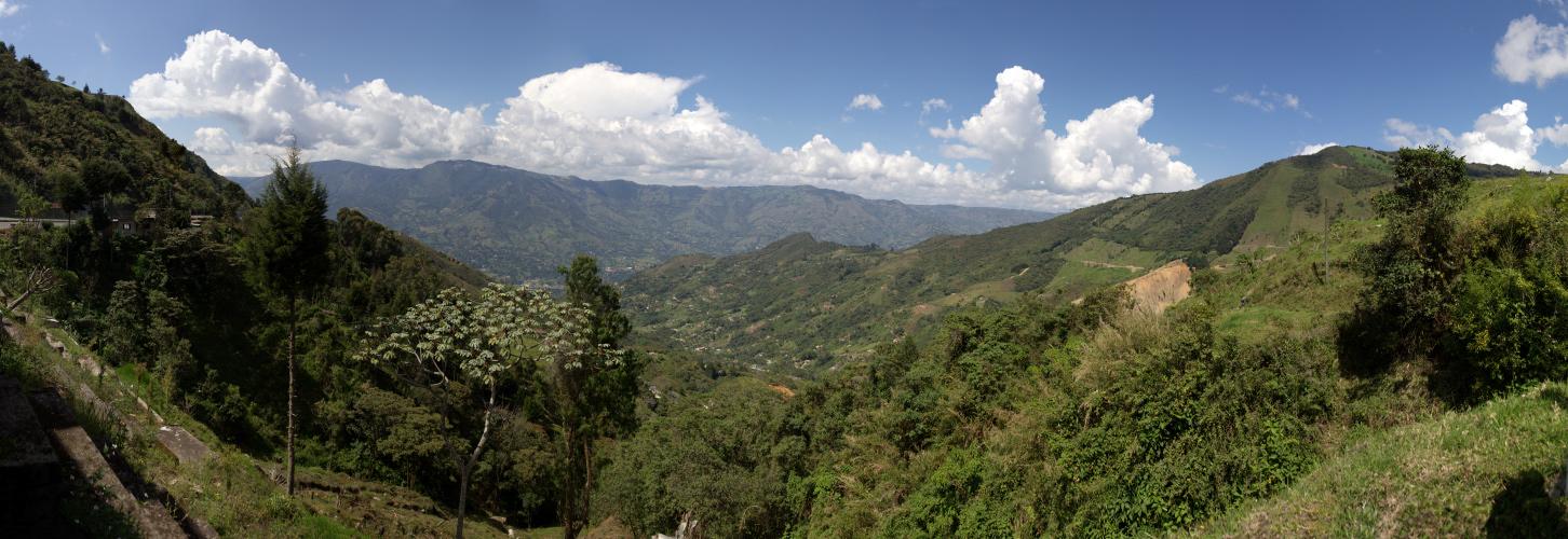 Paisaje del montaña - Medellin