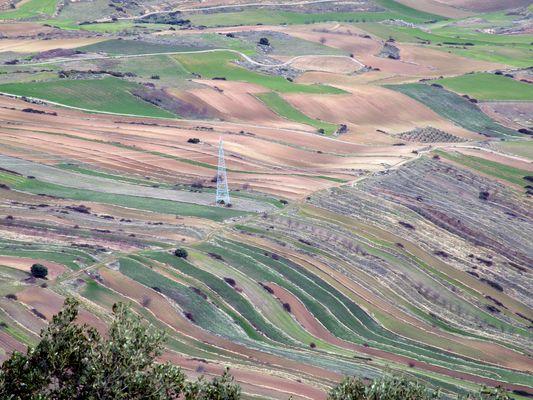 paisaje desde el monte Clavijo - La Rioja