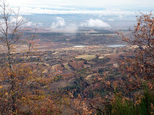 paisaje desde la Sierra de la Hez , La Rioja