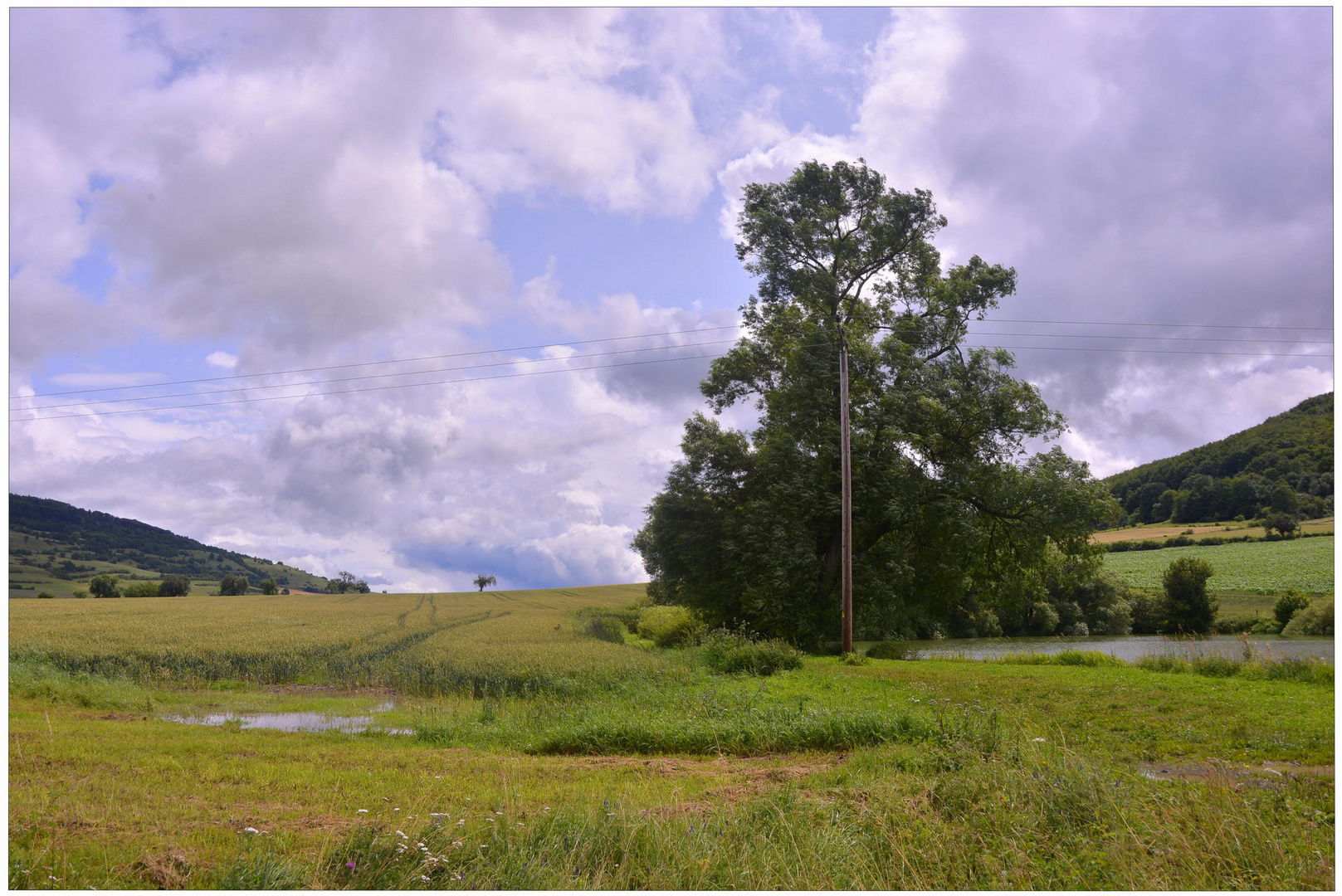 Paisaje en el lago (Landschaft am See)