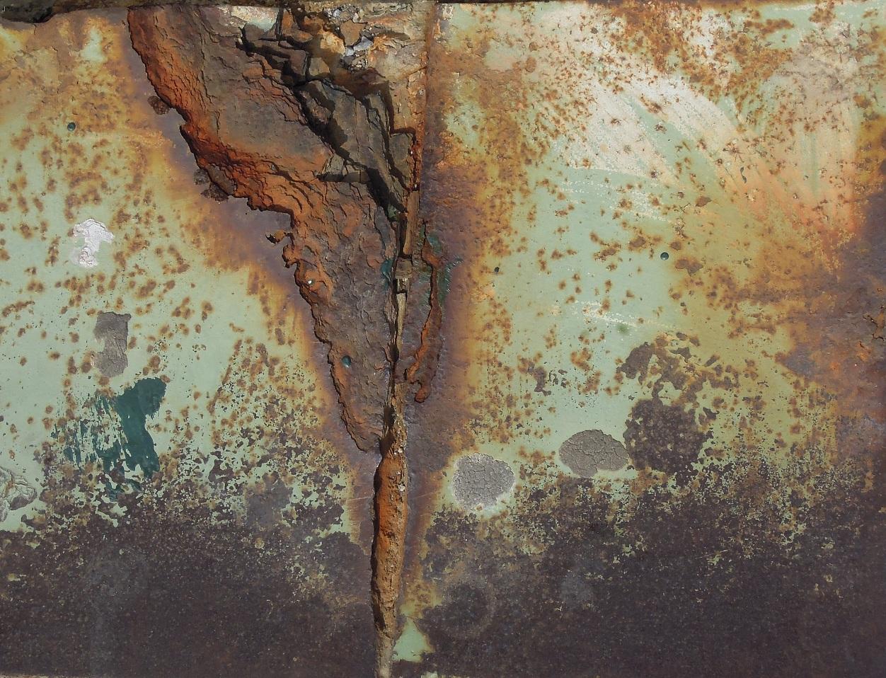 paisaje oxidado