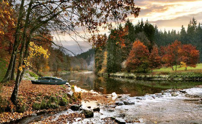Paisible rivière.
