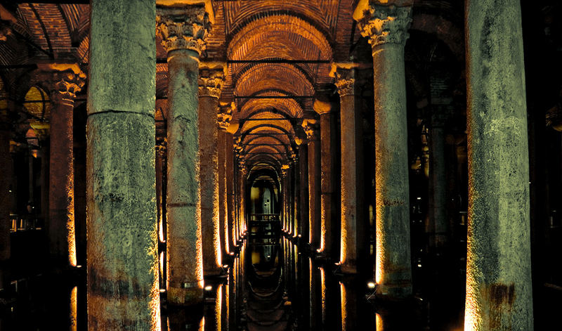 Palace Cistern in Istanbul