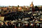 Palace Djamaa el Fna in Marrakech