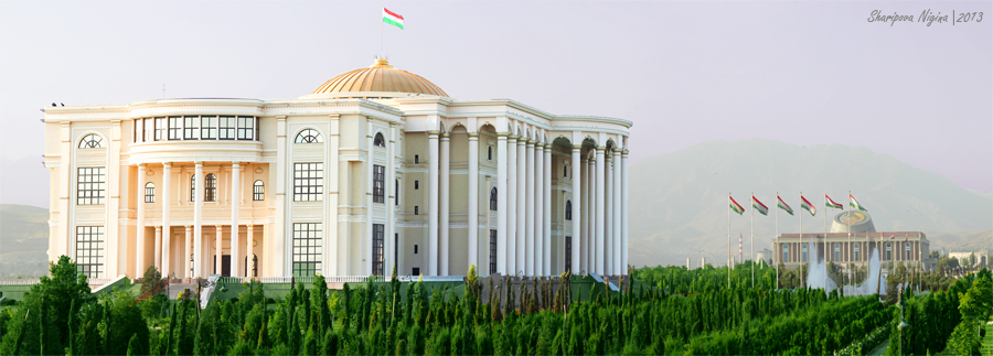 Palace of nations. Dushanbe, Tajikistan.