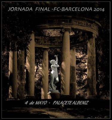 PALACETE ALBENIZ por LOLITA CECILIA-4ªJORNADA..y ULTIMA BARCELONA 2014