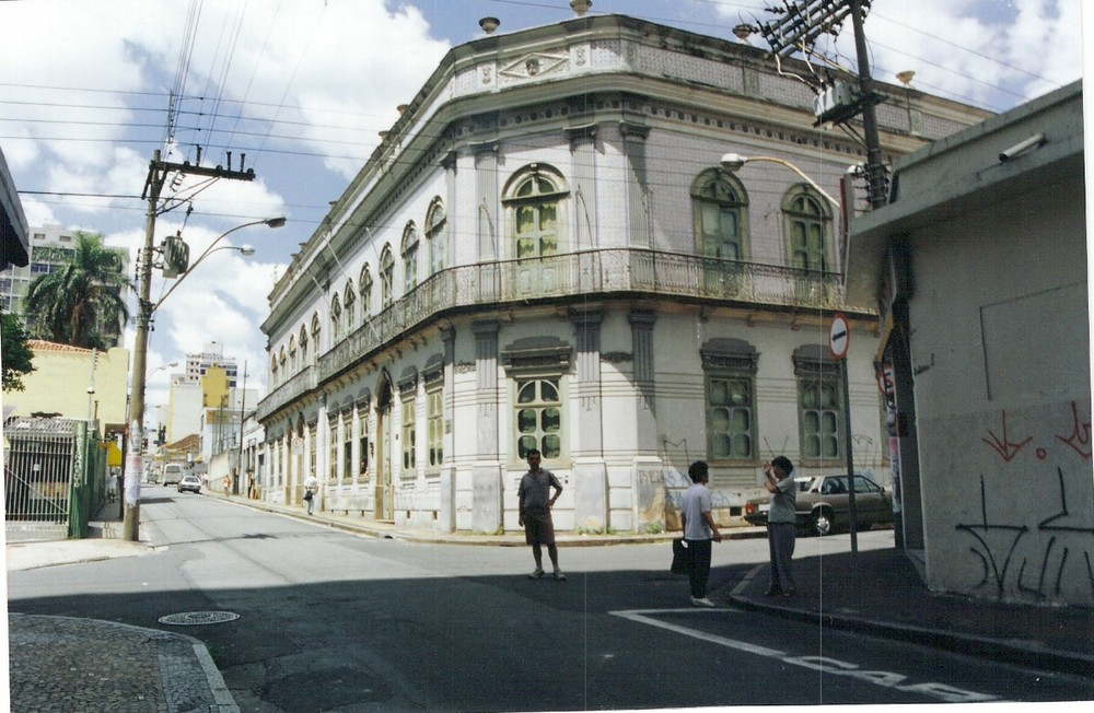 Palacio azulejo a Campinas