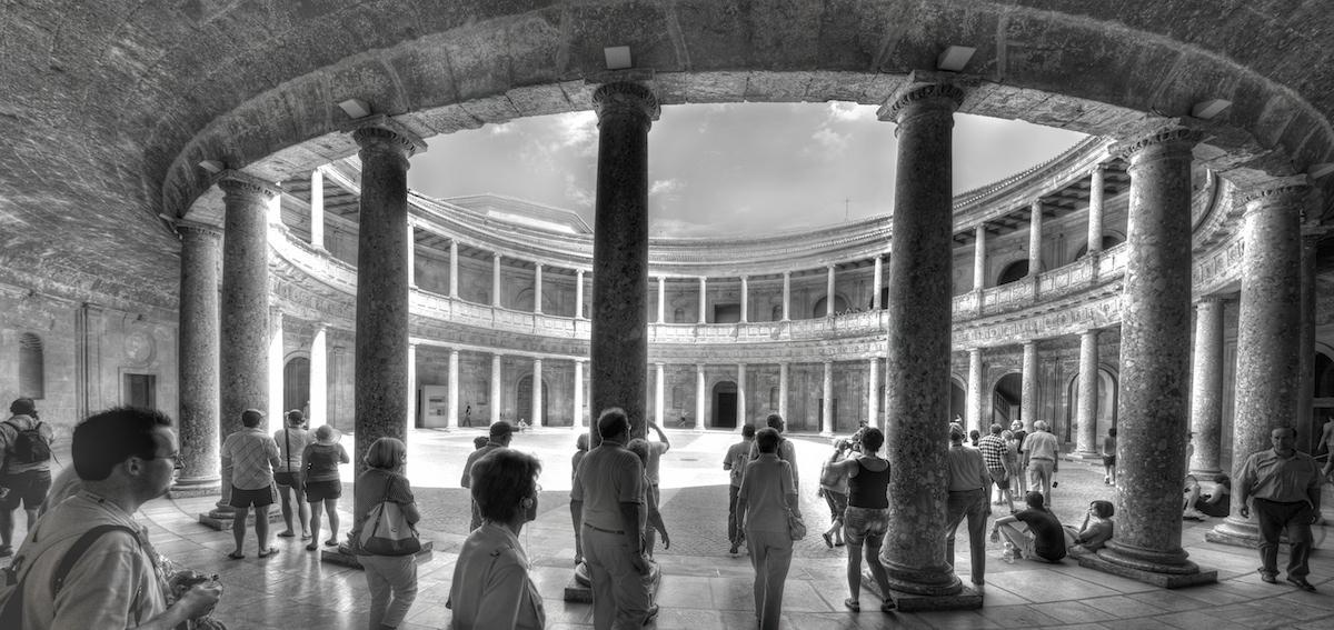 Palacio de Carlos V, en la Alhambra.