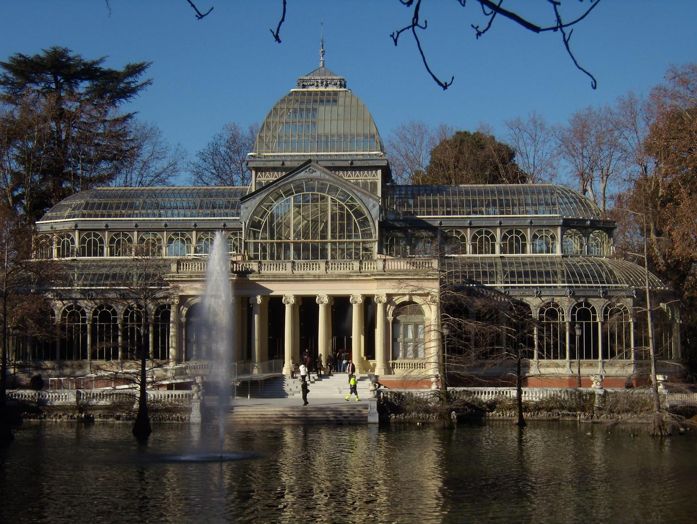Palacio de Cristal - Jardines del Retiro - Crystal Palace - Buen Retiro Park