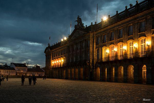 Palacio de Rajoy en La Plaza del Obradoiro