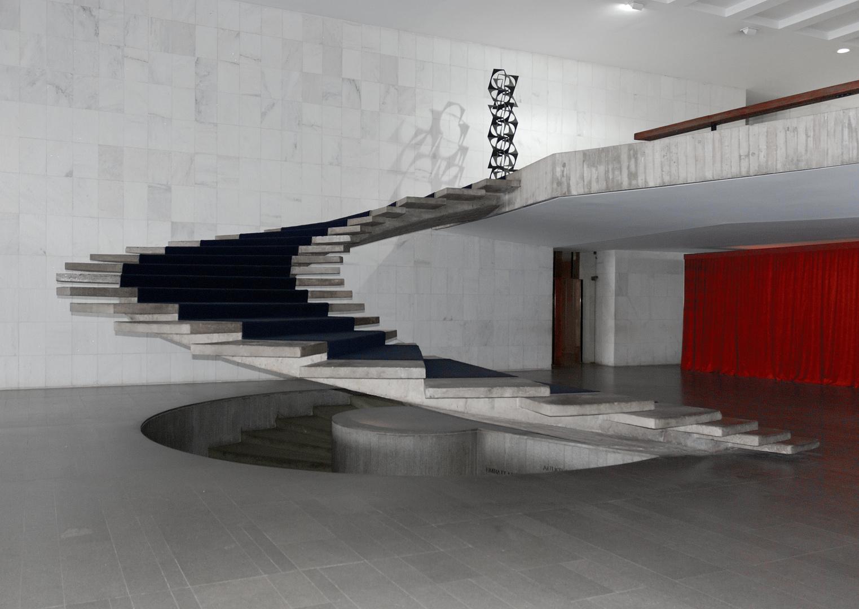 Palacio Itamaraty Freitreppe