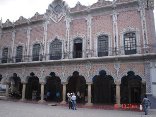Palacio Municipal de la Ciudad de Tehuacan.Puebla