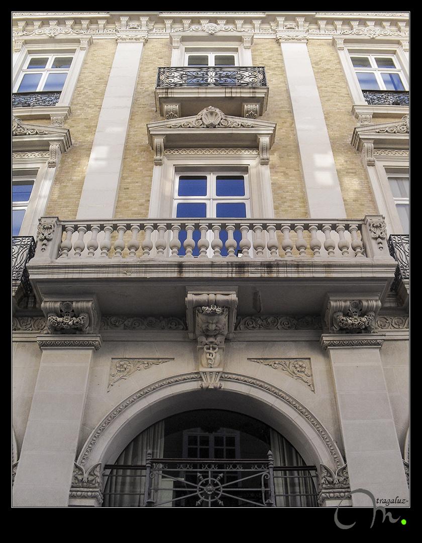 Palacio Pedreño -detalle de fachada lateral-