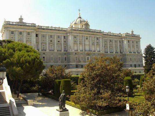 Palacio Real Madrid - Madrid royal palace