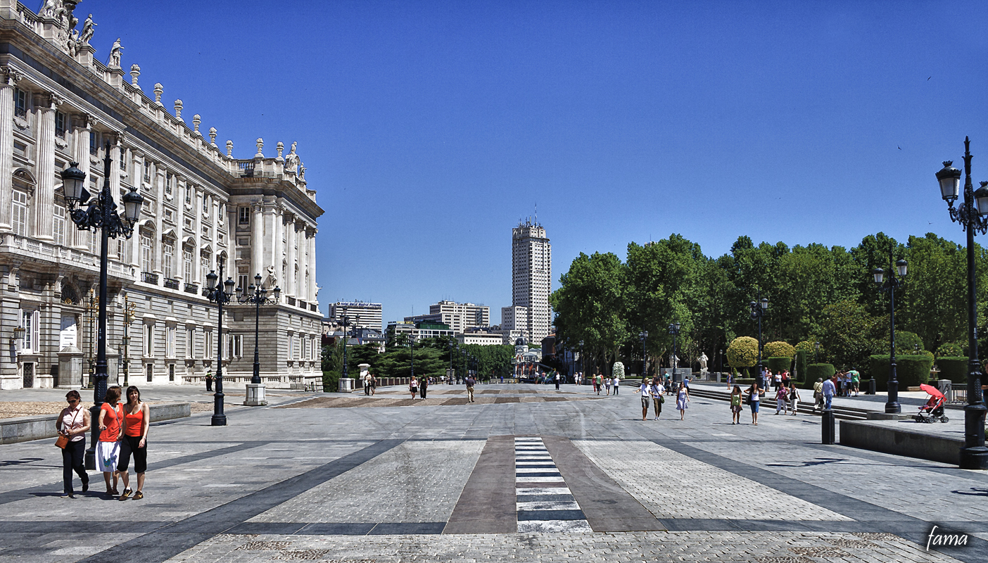 Palacio Real y Torre de Madrid