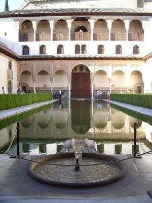 Palais d'Alhambra, Grenade, Espagne