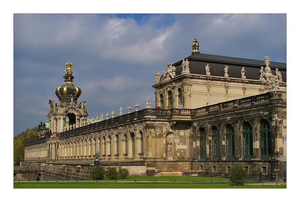 ~ palais du Zwinger ~