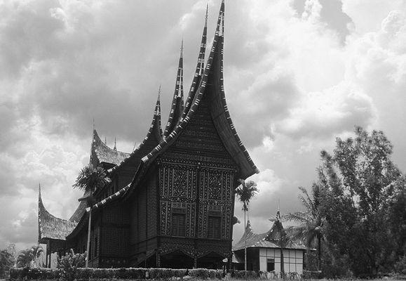 Palast der Minangkabau-Könige in Pagaruyung - Sumatra
