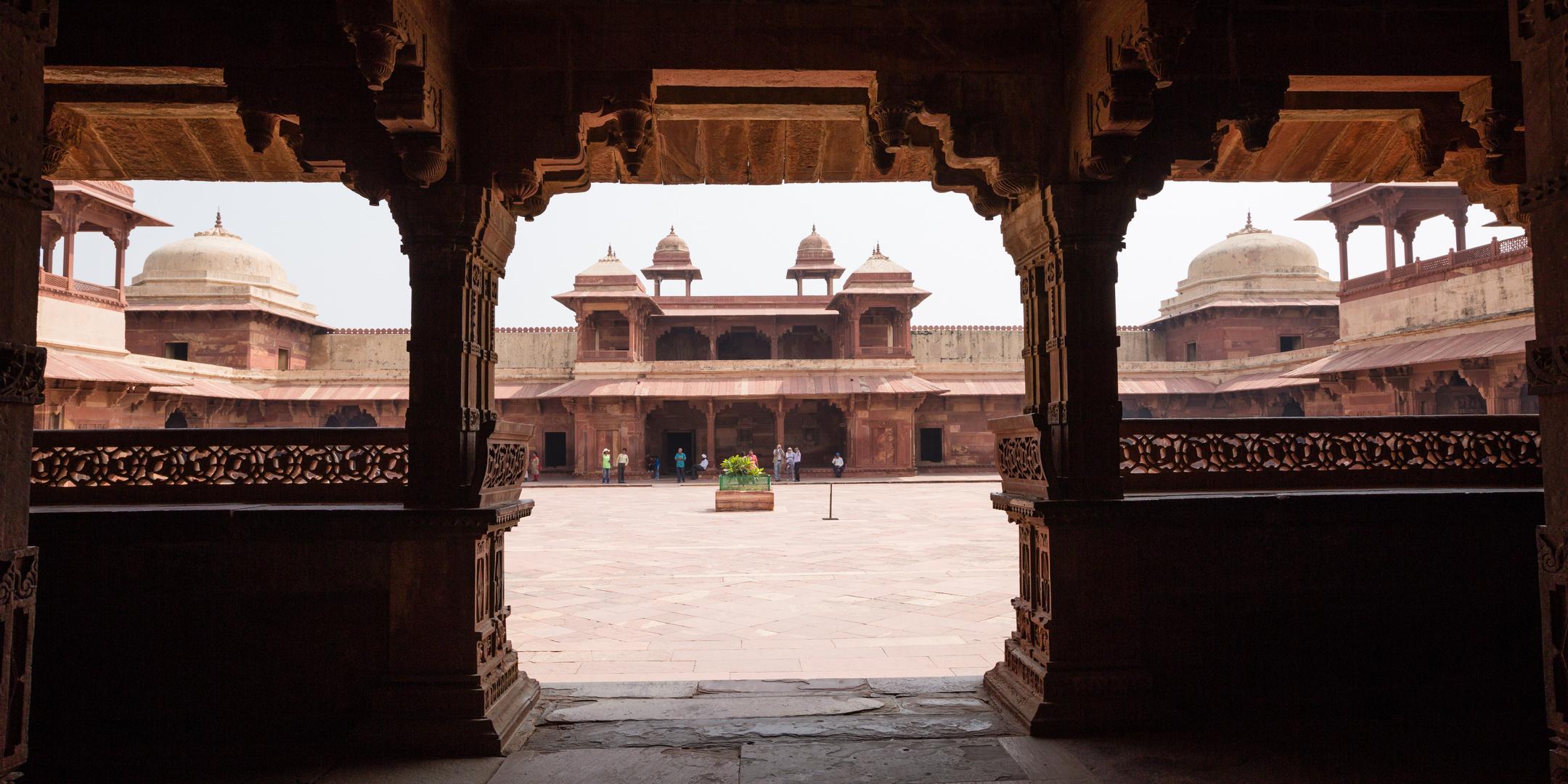 Palastanlage Fatehpur Sikri: Der Jodh Bai-Palast