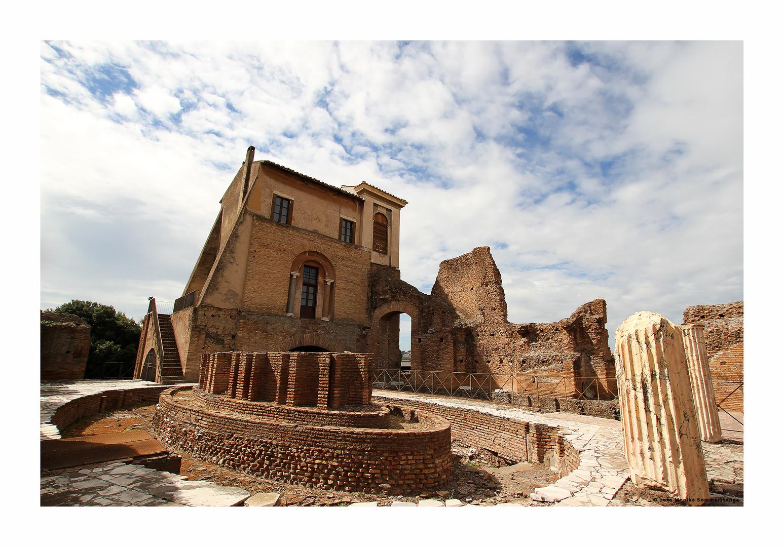 Palatin haus des augustus foto bild architektur rom - Architektur bilder ...