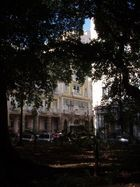 Palazzo aus Schatten heraus - Havanna, Kuba