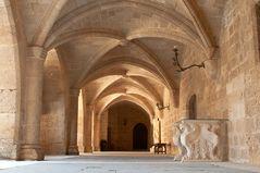 Palazzo del Gran Maestro - Particolare del chiostro-