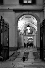 Palazzo Reale, portico