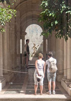 Palazzo Spada - Trompe d'oeil