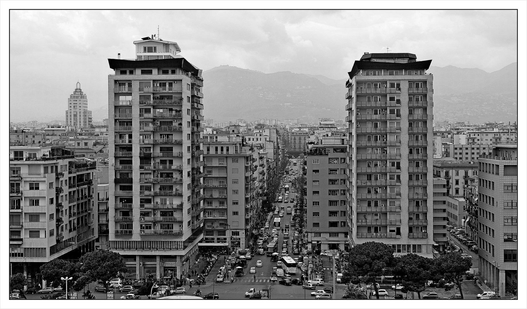 Palermo im Regen!