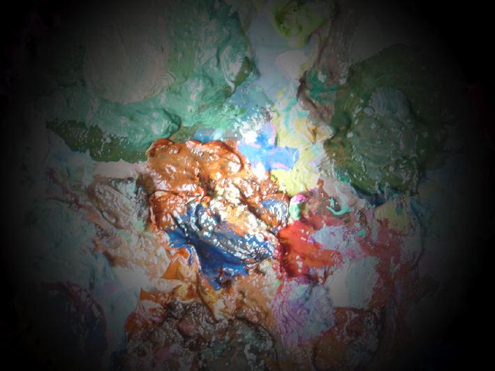 Palette de l'artiste