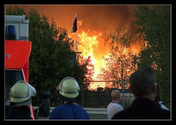 Palettenbrand in Essen-Altendorf
