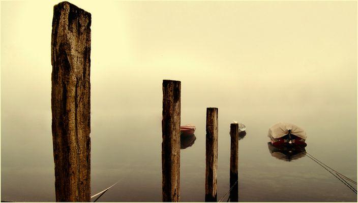 pali e barche nascoste