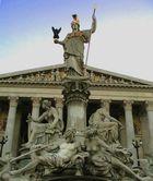 Pallas Athene vor dem Parlament Wien