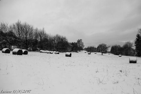 palle con la neve