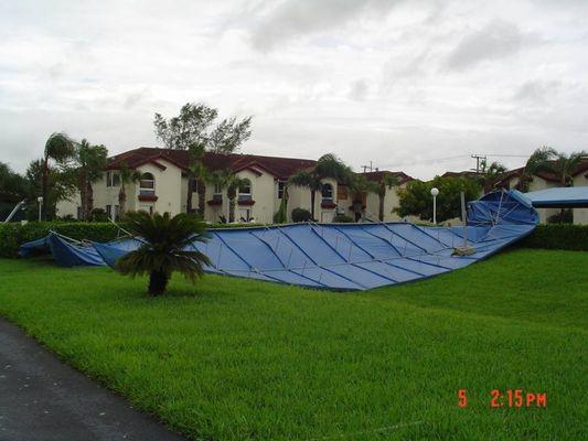 Palm Beach nach dem Sturm