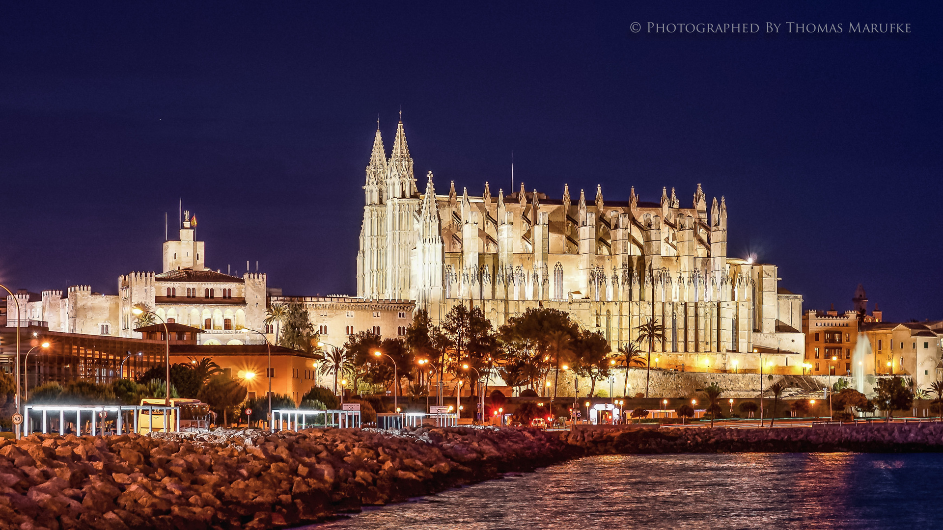 Palma At Night
