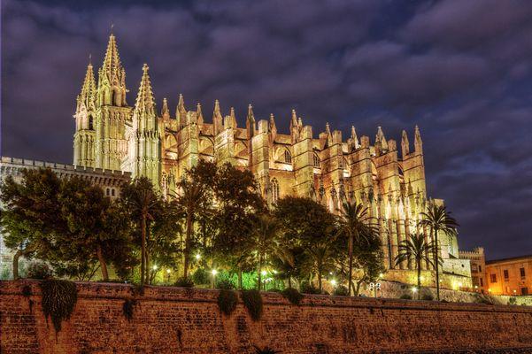 palma cathedral hdr