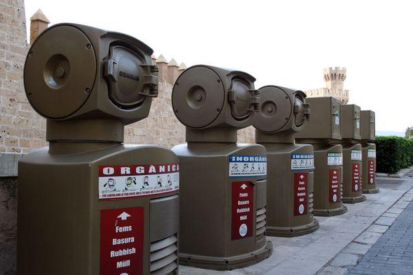 Palma - Müllentsorgung ganz modern