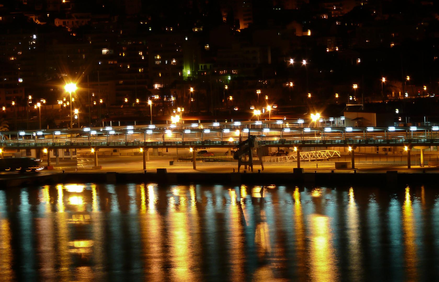 Palma Nachts vom Schiff aus