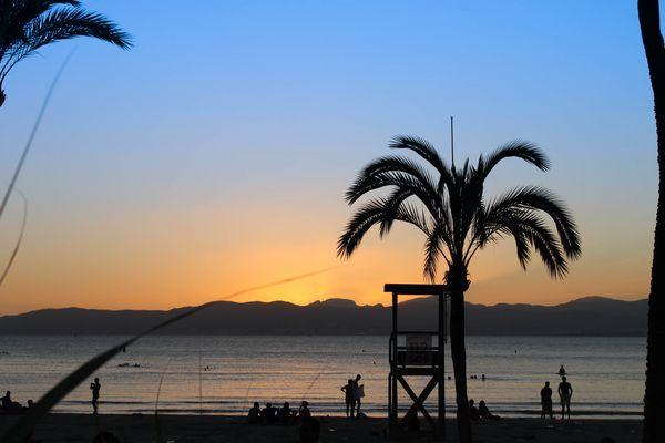 Palma on sunset!