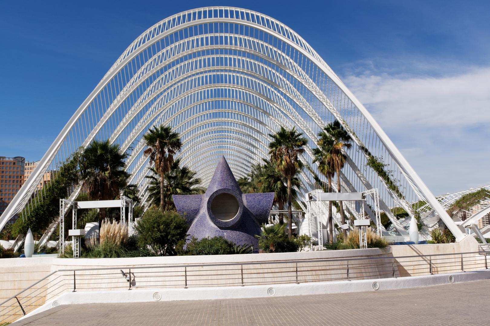 Palmengarten stadt der k nste und wissenschaft in valencia for Architektur valencia