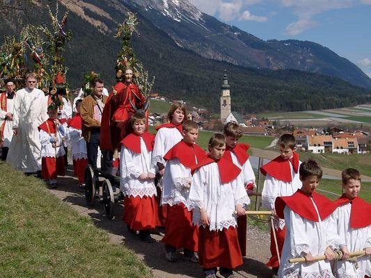 Palmesel-Prozession