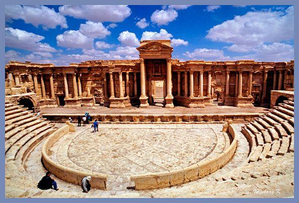 Palmyra - Amphietheater